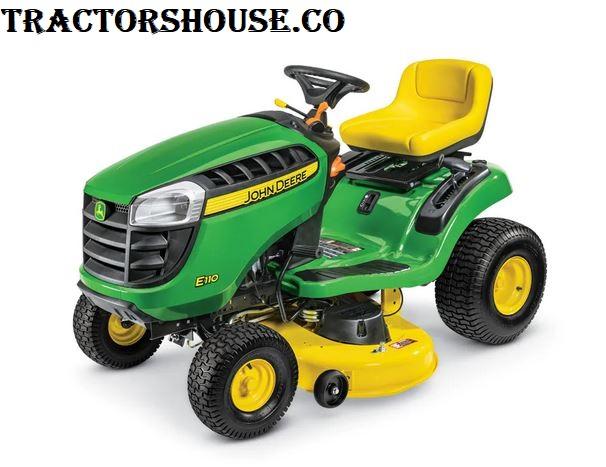 john deere e110 lawn tractor