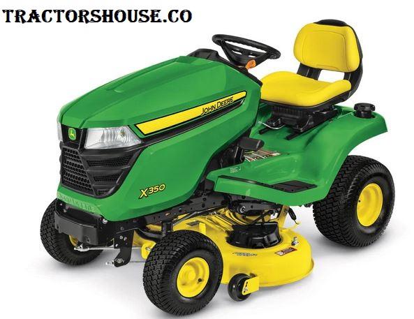 john deere X350 lawn tractor
