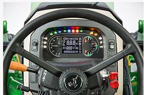 John Deere 5090E steering