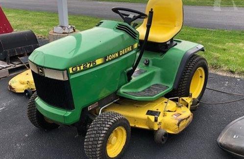 John Deere GT275 garden tractor