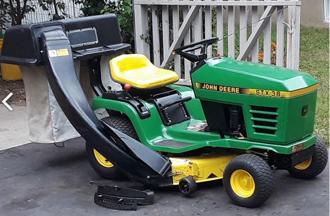 John Deere STX38 reviews