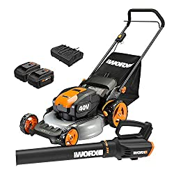 WORX WG958 1/2 ACRE LOT LAWN MOWER